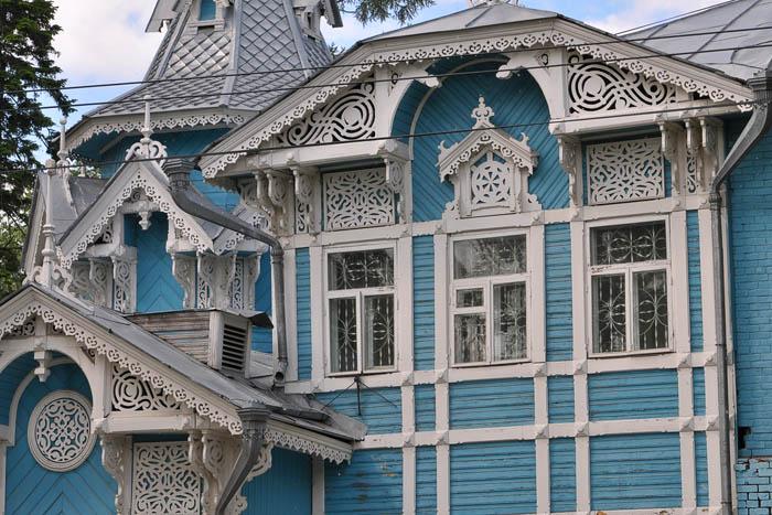 Красота деревянных узоров г. Томск