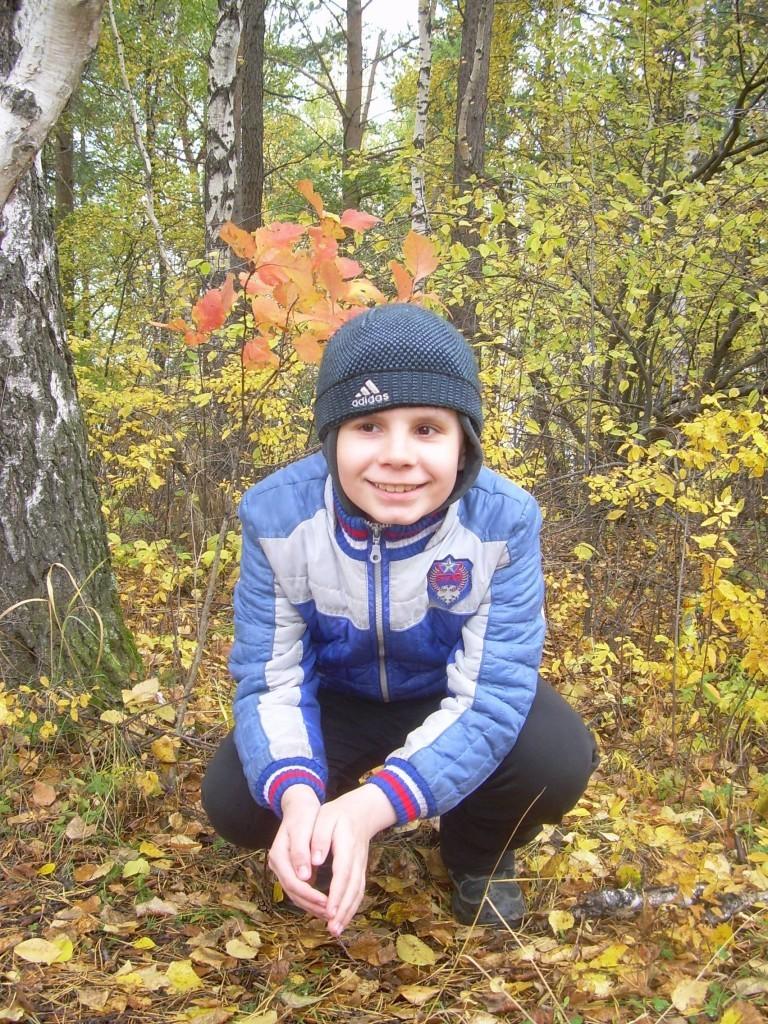 Осенний портрет г. Иркутск